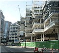 TQ3281 : Construction of London Wall Place by Rob Farrow