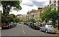 TQ2883 : Gloucester Crescent, Camden Town by Julian Osley
