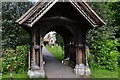 SU9782 : Stoke Poges: St. Giles' Church: The church through the lych gate by Michael Garlick
