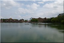 TQ3580 : Across Shadwell Basin by DS Pugh