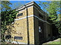 TQ3396 : New River infrastructure, Southbury Road / Eaton Road, EN1 by Mike Quinn