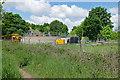 SU7962 : Sewage works near Eversley Cross by Alan Hunt