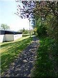 NS3373 : Cycle path at Bridgend by Thomas Nugent