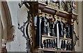 TQ0079 : Langley Marish, St. Mary's Church: The late Tudor Kedermister memorial 15 by Michael Garlick