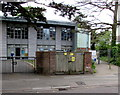 SZ0791 : West Hill Road electricity substation, Bournemouth by Jaggery
