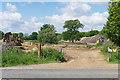 SU7962 : Fleethill Farm gravel pit entrance by Alan Hunt