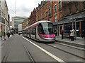 SP0786 : Midland Metro tram driver training in Corporation Street, Birmingham by Robin Stott