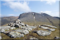 NN1372 : Summit cairn of Meall an t-Suidhe by Trevor Littlewood