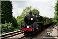 TQ3837 : No.73082 Arrives at East Grinstead by Peter Trimming