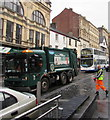 ST3188 : Vehicles in High Street, Newport by Jaggery