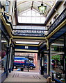 ST3088 : Western end of Newport Arcade, Newport by Jaggery