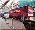 ST3088 : Moorhouse Huddersfield lorry in Cambrian Road, Newport by Jaggery