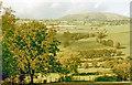 SJ0725 : Northward across Tanat Valley from B4391 near Pen-y-bontfawr, 1975 by Ben Brooksbank