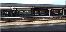 SS7597 : Platform 1, Neath railway station by Jaggery