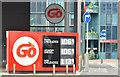 J3373 : Fuel prices sign, Belfast (28 May 2016) by Albert Bridge