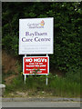 TM1052 : Baylham Care Centre sign by Adrian Cable
