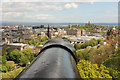 NT2573 : Edinburgh from the forewall battery by Richard Croft