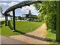 SU3802 : Beaulieu Monorail track and North Station by David Dixon