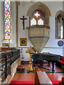 SU3802 : Beaulieu Abbey Church Pulpit by David Dixon