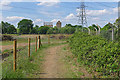 TQ0663 : Footpath to Weybridge by Alan Hunt