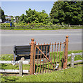 J3664 : BWC gates, Carryduff by Rossographer