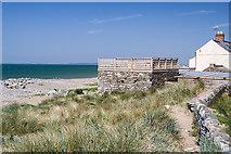 SH4356 : North Wales WWII defences: RAF Llandwrog, Dinas Dinlle - pillbox (6) by Mike Searle