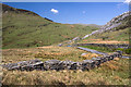 SH5553 : North Wales WWII defences: Rhyd Ddu - anti-tank blocks (2) by Mike Searle