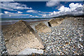 SH6112 : North Wales WWII defences: Fairbourne - anti-tank blocks (4) by Mike Searle