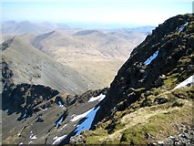 NM5233 : North East face of Ben More and A' Chioch Ridge by Robert Skipworth