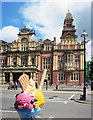 SP3165 : Town Hall and Ice Cream by Des Blenkinsopp