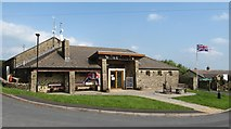 SD7656 : Tosside Community Hall by Gordon Hatton