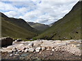 NN2149 : Top of the waterfall, Allt Coire Ghiubhasan by Alan O'Dowd