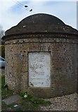 TQ3809 : Ashcombe Toll House by N Chadwick