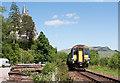 NN1227 : Train leaving Loch Awe - June 2016 by The Carlisle Kid