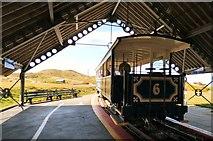 SH7783 : Tramcar #6 awaits by Gerald England