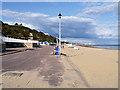SZ0790 : West Undercliffe Promenade, Durley Chine Beach by David Dixon