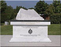 SK1814 : Gibraltar War Memorial by Alf Beard