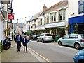 SW6527 : Shop fronts in Meneage Street, Helston by Derek Voller