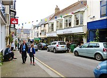 SW6527 : Shop fronts in Meneage Street, Helston by Derek Voller