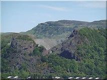 NS4174 : Dumbuck Quarry by Richard Webb