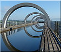 NS8580 : The top of the Falkirk Wheel by Mat Fascione