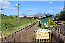 SH5639 : Croeso Welcome at Porthmadog by Richard Hoare