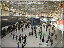 TQ3179 : Waterloo station concourse by Given Up