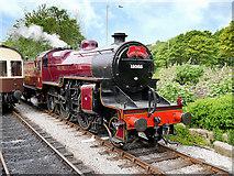SD8022 : Hughes Crab Locomotive at Rawtenstall by David Dixon