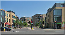 TL4557 : Across Hills Road to CB1 by John Sutton