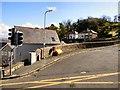 SH7782 : Llwynon Road by Gerald England