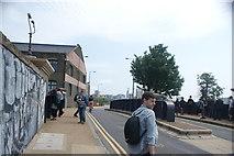 TQ3784 : View along White Post Lane #4 by Robert Lamb