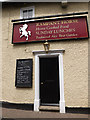 TM0954 : Entrance to The Rampant Horse Inn Public House by Geographer