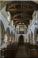 TF1554 : Interior, St Michael and All Angels church, Billinghay by Julian P Guffogg
