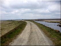 SD9620 : The Pennine Way alongside Light Hazzles Reservoir by David Dixon